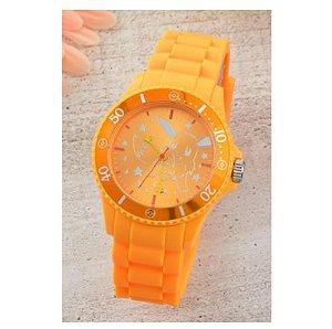Relógio Eevee laranja