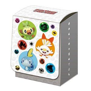 DeckBox japonesa iniciais de Galar(Grookey, Scorbunny & Sobble)
