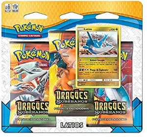 Triple Pack Pokémon tcg Dragões Soberanos