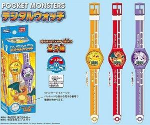 Relógio Digital Pikachu