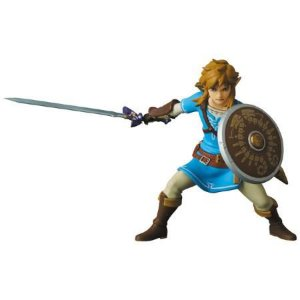 "Ultra Detail Figure No.565 UDF Link (Breath of the Wild Ver.) ""The Legend of Zelda"" (Pré-venda)"