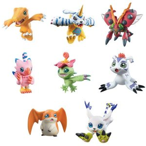 Digimon Adventure DigiColle! MIX 8Pack BOX