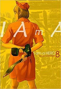 I am a Hero volume 8 semi-novo