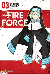 Fire Force volume 3 Semi-novo