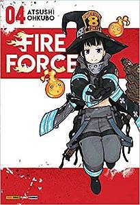 Fire Force volume 4 Novo