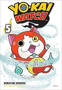 Yo-kai watch volume 5 semi-novo
