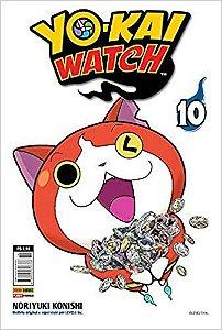 Yo-kai watch volume 10 semi-novo