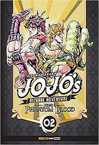 Jojo'S Bizarre Adventure. Phantom Blood - Parte 1. Volume 2 (Português) Capa comum