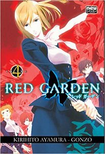 Red Garden volume 4 semi-novo