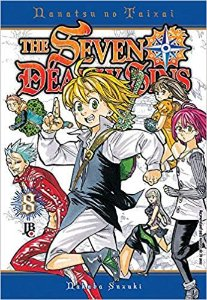 The Seven Deadly Sins: Nanatsu no Taizai volume 8 semi-novo