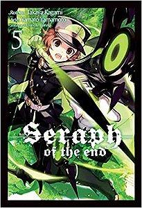 Seraph of the End volume 5 semi-novo