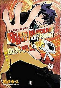Blood Blockade Battlefront volume 9 semi-novo