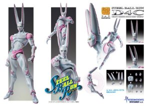 Super Action Statue JoJo's Bizarre Adventure Part.VII Steel Ball Run D4C