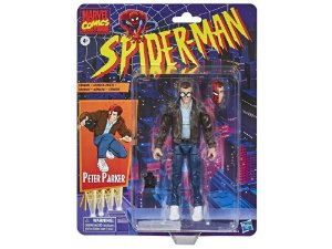 Spider-Man Marvel Legends Retro Collection - Peter, Green Goblin, Gwen and Spider Man PRÉ-VENDA PACOTE