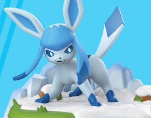 An Afternoon with Eevee & Friends: Glaceon Figure by Funko