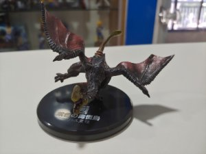 Miniatura dragão vinho Monster Hunter