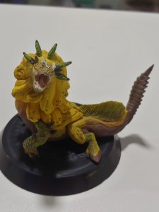 Monstro amarelo Monster Hunter