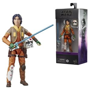 Star Wars The Black Series Ezra Bridger 6-Inch Action Figure (Pré-venda)
