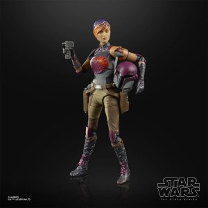 Star Wars The Black Series Sabine Wren 6-Inch Action Figure (Pré-venda)