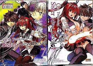 The Testament of sister new devil volume 7 semi-novo