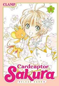 Mangá em JAPONÊS Sakura Cardcarptor Clear Card volume 1