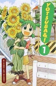Mangá em Japonês Yotsubato volume 1