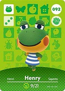 Amiibo Card - Henry