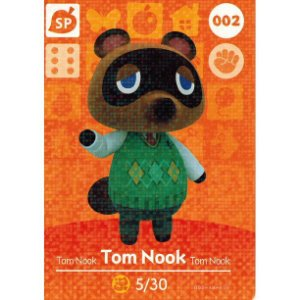Amiibo Card - Tom Nook