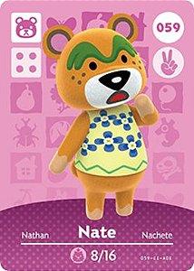 Amiibo Card - Nate