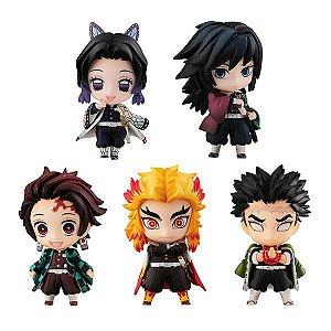 Demon Slayer: Kimetsu no Yaiba Tanjiro and the Pillars Mascot Set A (Pre-order)