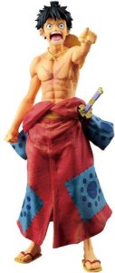 MONKEY D LUFFY - ONE PIECE BANPRESTO WORLD COLOSSEUM 2 (Pronta Entrega)