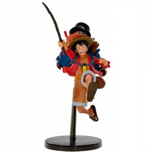 Monkey D Luffy - One Piece - Three Brothers - Bandai Banpresto