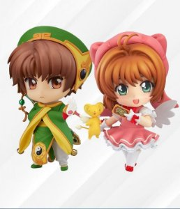 COMBO Nendoroid Cardcaptor Sakura Sakura Kinomoto e Sakura Syaoran Li (Pre order) (Frete Grátis)