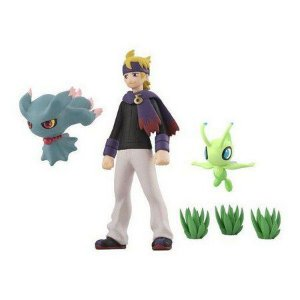 Pokemon Scale World Johto Region Morty (Matsuba) & (Misdreavus) Muma & Celebi