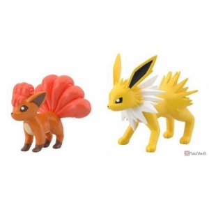 Pokémon Scale World Joelteon e Vulpix