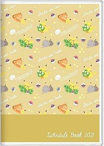Planner 2021 - Sunstar Stationery Pokemon (Pronta Entrega)