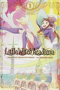 Mangá em Japonês - Little Witch Academia COLEÇÃO COMPLETA (Pronta Entrega)