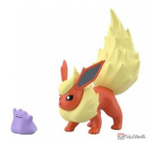 Pokémon Scale World - Flareon e Ditto (Pronta Entrega)