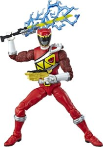 Figure Articulada - Power Ranger Lighting Collection - Dino Charge Red Ranger (Pronta Entrega)