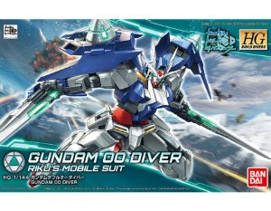 Gundam 00 Diver - Riku's Mobile Suit (HG) Pronta Entrega)