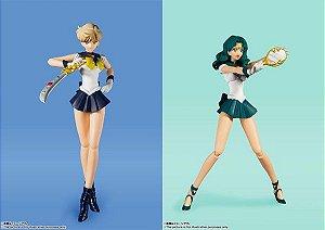 S.H.Figuarts Sailor Neptune & Sailor Uranus -Animation Color Edition- 2 Figure Set(Pre-order)