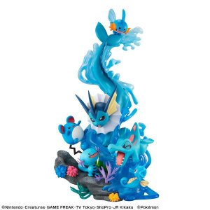 G.E.M. EX Series Pokemon Water Type DIVE TO BLUE Complete Figure (Pre-order)