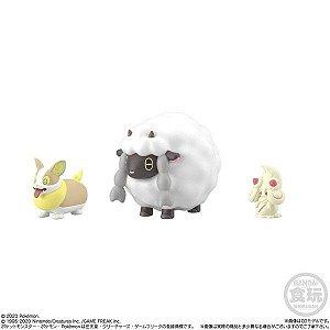 Pokemon - Scale World - Wanpachi, Wooluu e Mawhip (Pronta Entrega)