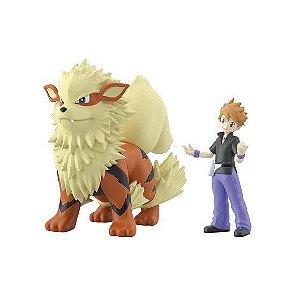 Pokemon - Scale World Kanto - Green & Arcanine (Pre-Order)