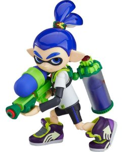 Figma 462 - Splatoon Boy (Pronta Entrega)