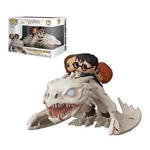 Funko Pop! Riders: Harry Potter - Harry, Hermione e Ron no Gringotts Dragon (Pronta Entrega)