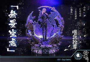 Figure Jujutsu Kaisen - Gojo Satoru com LED - Resin Statue - ILL ILLEGAL FACTORY Studios (Pre-Order)