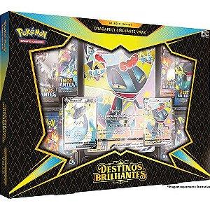 Pokemon TCG - Box Destinos Brilhantes - Dragapult V Max (Pronta Entrega)