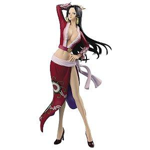 Figure One Piece - Glitter & Glamours - Boa Hancock Ver. Red Dress (Pronta Entrega)