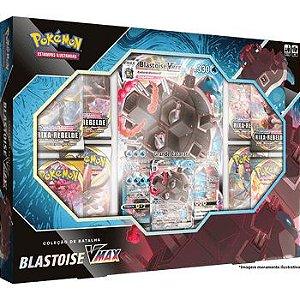 Pokemon TCG - Box Coleção de Batalha - Blastoise V Max (Pronta Entrega)